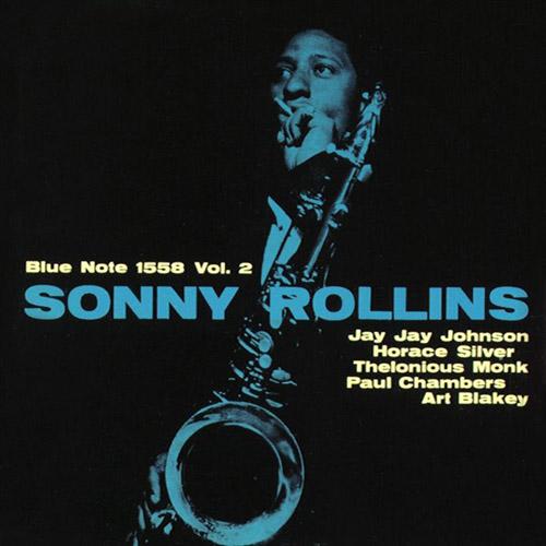 Photo of Sonny Rollins merekam volume 2 Blue Note 1958