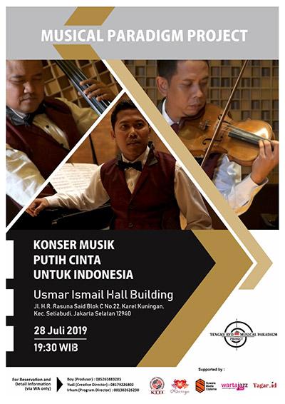 Photo of KONSER MUSICAL PARADIGM PROJECT – PUTIH CINTA UNTUK INDONESIA DI USMAR ISMAIL JAKARTA