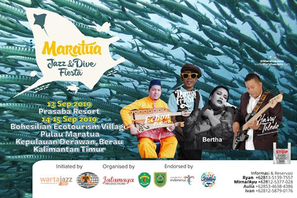 Photo of 4th Maratua Jazz and Dive Fiesta persembahkan Bertha, Denny Frust dan Harry Toledo