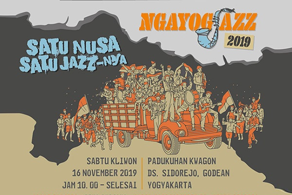 Photo of Satu Nusa Satu Jazz-nya, tema NgayogJazz 2019