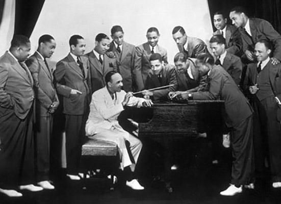 Photo of Pianis & Leader Bigband, James Fletcher Hamilton Henderson