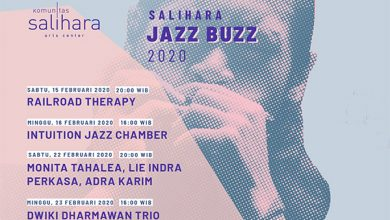 Photo of Salihara Jazz Buzz 2020 hadirkan Railroad Therapy, Intuition Jazz Chamber, Adra Karim, Lie Indra Perkasa & Monita Tahalea, Dwiki Dharmawan Trio