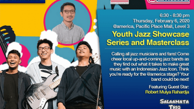 Photo of Youth Jazz Showcase Series & Masterclasses Februari 2020 hadirkan Salaamata dan Robert MR