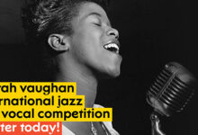 Photo of Kompetisi Vokal Jazz Internasional Sarah Vaughan 2020