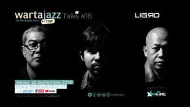 Photo of Ligro akan menjadi tamu WartaJazz Talks #18