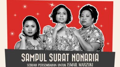 Photo of Sampul Surat NonaRia, Sebuah Persembahan Untuk Ismail Marzuki