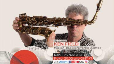 Photo of WartaJazz Talks Edisi #18 bersama Saksofonis Ken Field (USA)